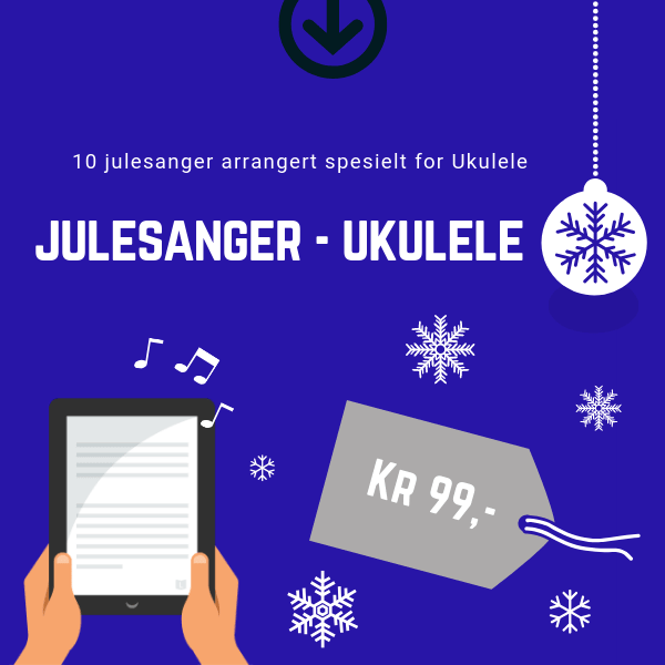 Julesanger for Ukulele